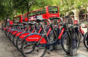 Free (up to 30 minute) cycle rides in London on Santander Bikes today (14th September 2016)