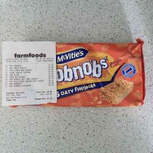 Hobnob Flapjacks, 39p at Farmfoods