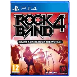 Rock Band 4 PS4 (Software only) £9.99 @ GAME