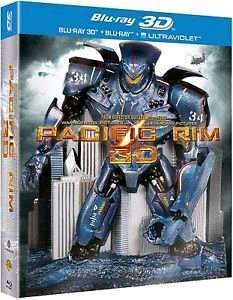 Pacific Rim - Limited Edition Robot Pack (3D + 2D Blu-Ray) £6.99 @ theentertainmentstore. ebay