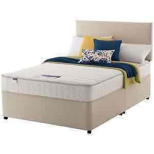 Argos ebay extra money off - Silentnight Stroud Memory Continuous Sprung 5FT Kingsize 4 Drawer Divan Bed - £358.15 Delivered