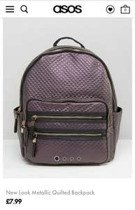 New look backpack £7.99 on asos instead of £24.99 (plus £3 delivery non-Premier)