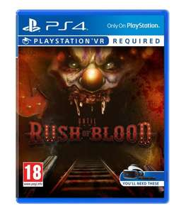 Until Dawn: Rush of Blood (PSVR) £14 Delivered @ Amazon Prime (add £1.99 for non-Prime)