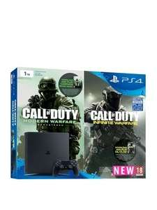 Playstation 4 Slim 1Tb Console With Call Of Duty: Infinite Warfare Early Access Bundle Plus Optional Extra Controller And 12 Months PlayStation Network £336.98 Very