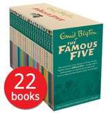 The Famous Five: Complete Collection - 22 Books just £22.75 Del with code @ The Book People (Huge Flash Sale ie Horrid Henry's Loathsome Library Collection - 30 Books £20.95 Del)
