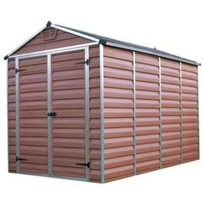 Palram Skylight Plastic Amber Shed - 6x10ft reduced to £536.94 including Delivery Argos
