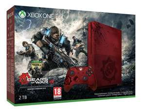 Gears of War 4 Xbox One S 2TB Console New £349.97 @ GameStop UK