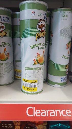 Pringles Spicy Chilli Samba 190g 43p Instore @ Tesco