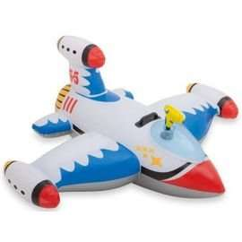 Inflatable Water Gun Space Ship Ride on Toy £2.50 at Tesco - Haslingden