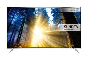 "SAMSUNG UE43KS7500 43"" SUHD-4K CURVED Smart FreeviewHD LED £799.97 @ powerdirect"