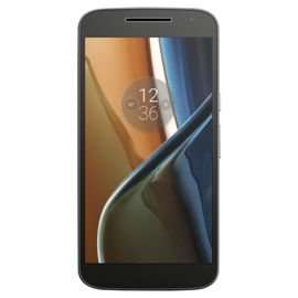 Motorola Moto G4 Black - SIM Free 16GB £125 with code @ Tesco Direct