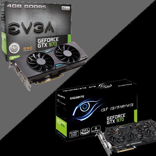 Nvidia GTX 970 (EVGA SSC ACX or Gigabyte G1 Gaming) £174.99 Delivered @ Ebuyer