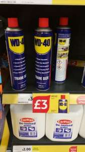 WD40 600ml for £3 @ Tesco Instore