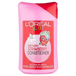L'Oreal Kids Conditioner - Very Berry Strawberry/cheeky cherry 250ml  £1 @ B&M Instore
