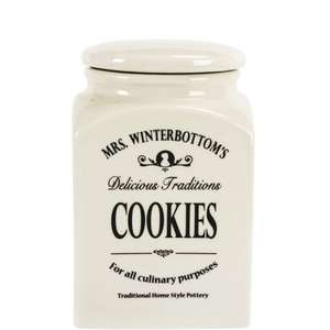 Mrs Winterbottom Large Cookie Biscuit Jar £1.50 @ B&M