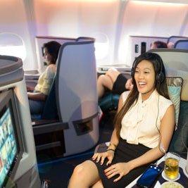 Doha to Hong Kong in Sri Lankan Airways Business Class 27/1/17 to 13/2/17 £717 @ BudgetAir via Kayak