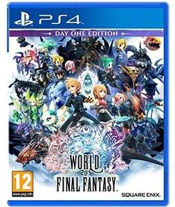 World of final fantasy - Day One Edition w/bonus content PS4 (not Vita) @ Simply games - £29.99