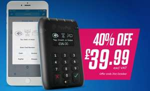 PayPal Here (40% OFF) £47.99 Inc VAT @ PayPal