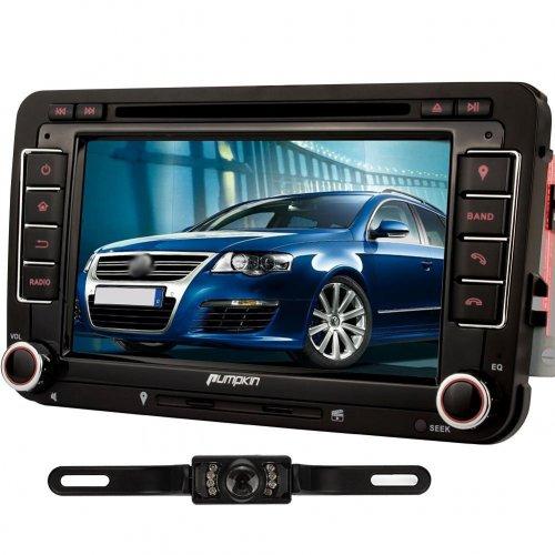 Pumpkin Car DVD Player - VW Style, BT, Reversing Camera - £169 @ Amazon (Lightning Deal)