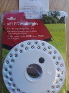 48 ultra bright LED multilight WAS £8 NOW £1.25 instore @ Wilko
