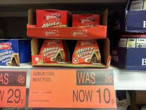 "Goblin ""Meat"" and Gravy Pudding 10p @ B&M"