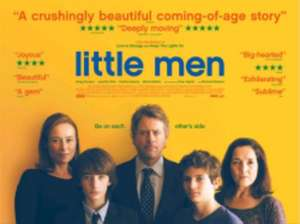 """FREE tickets for """"little men"""" movie (show film first)18th September"""