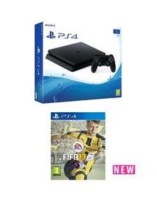 Very New PS4 slim 1tb with fifa, controller and 12mnths for £339