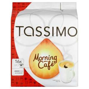 Tassimo Morning Cafe 124.8 g (Pack of 5) - Amazon Prime