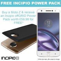 Moto Z with FREE Incipio power pack mod £495 @ clove