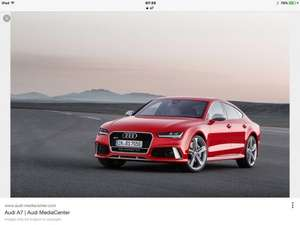 Audi A7 sportback £42795 @ Drive the Deal