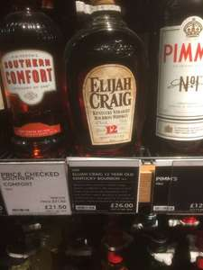 Elijah Craig Small Batch Bourbon 12 Year Old £26 @ Marks & Spencer