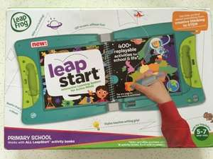 Leap start plus two books £32 in Smyths