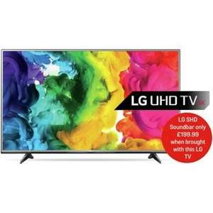 LG 55UH615V 55 Inch Ultra HD 4K Web OS Smart LED TV at Argos Was £999.00 Now £579.00