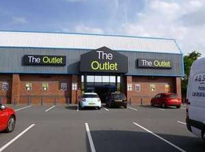 The Outlet (Very clearance outlet) Coalville, Leics 40% off everything in store