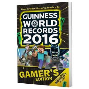 Guinness World Records 2016: Gamer's Edition New £1.99 @ GAME