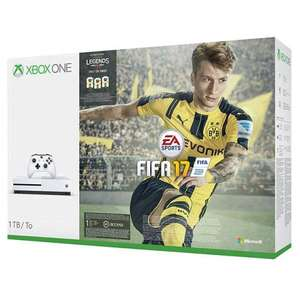 Xbox one s Fifa 17 1TB bundle at John Lewis (2 Years Warranty) £289.95