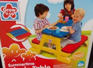 Kids picnic bench grow n up £7.50 @ Wilko - Newcastle