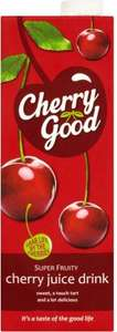 Cherrygood Classic Cherry Juice Drink (1L) ONLY 78p @ Morrisons