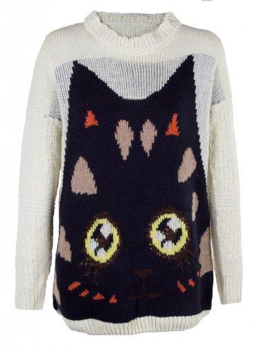 Cat Jumper for Sale! £3 - £6.95 delivered @ Tenner store