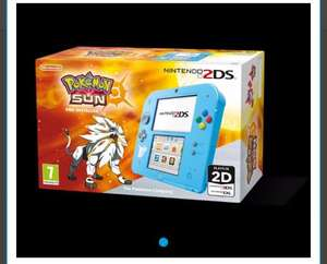 pokemon sun or moon 2ds console £79 with code @ Tesco