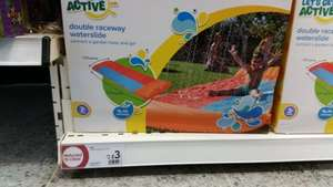 Double Raceway Waterslide was £12 now £3 instore @ Wilko