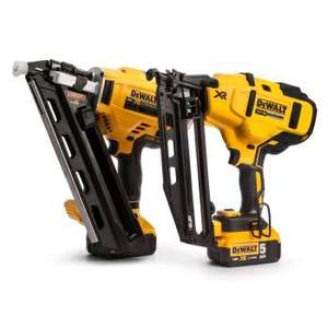 dewalt 1st & 2nd fix nailers 2x 5ah batteries and charger £649 @ Toolstop