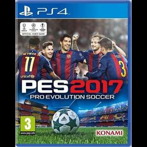 PES 2017 PS4/XBOX ONE £26 (+2 C&C) Tesco Direct