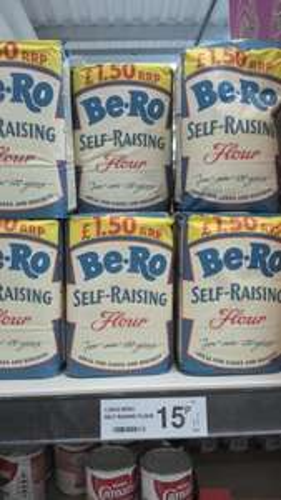 Be.Ro flour. 15p @ Farmfoods - Porth Rhondda