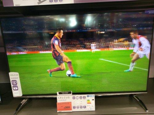 "Celcus 4K UHD 48"" TV £300 @ Sainsbury's"