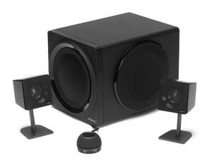 Creative GigaWorks T3 (2.1) High End Speaker System with Powerful Subwoofer £89.99 Free delivery @ Creative.co.uk(+5% Quidco)