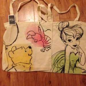 Disney canvas bags £1  in Poundland
