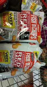 Burton Fish N Chips in brown or red sauce 3 packs of 5 £1 - Home Bargains (instore)