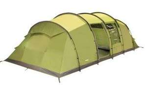 Vango Odyssey 800 Vis-a-Vis Tunnel Tent for 8 Persons - Epsom Green £189.72 Amazon