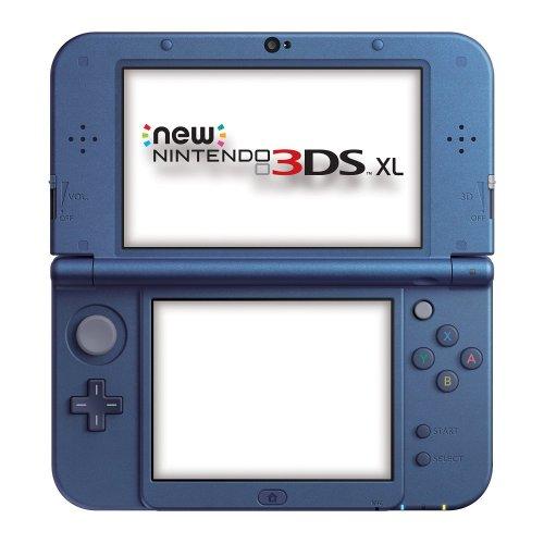 New Nintendo 3DS XL Metallic Blue / Metallic Black £144 @ Amazon (Tesco Direct price-match)